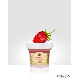 SKINFOOD-Maseczka-peelingująca-Black-Sugar-truskawka-100g-do-spłukiwania