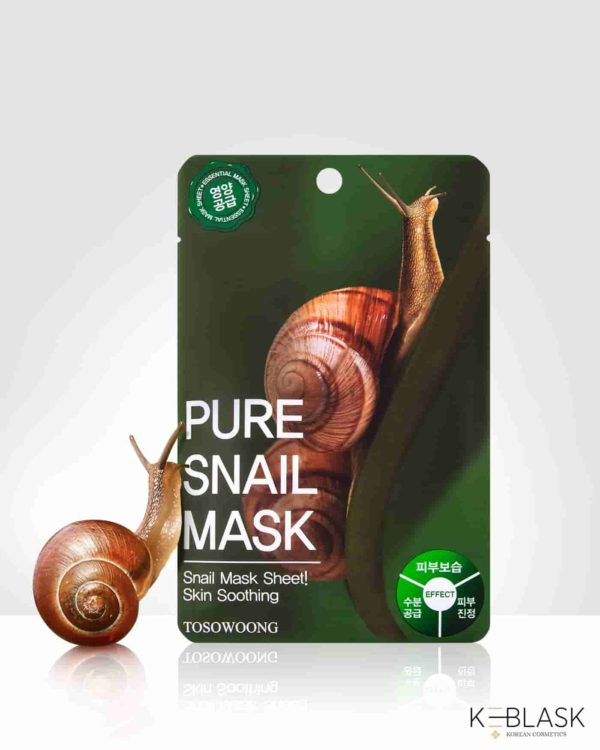 TOSOWOONG-Pure-Mask-maseczki-w-płachcie-sluz-slimaka