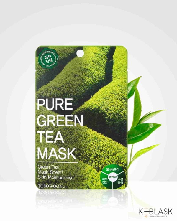 TOSOWOONG-Pure-Mask-maseczki-w-płachcie-zielona-herbata