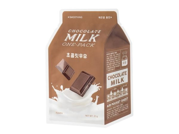 A'PIEU-Milk-One-Pack-maseczka-w-plachcie-czekolada