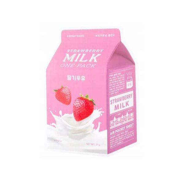 A'PIEU-Milk-One-Pack-maseczka-w-plachcie-truskawka