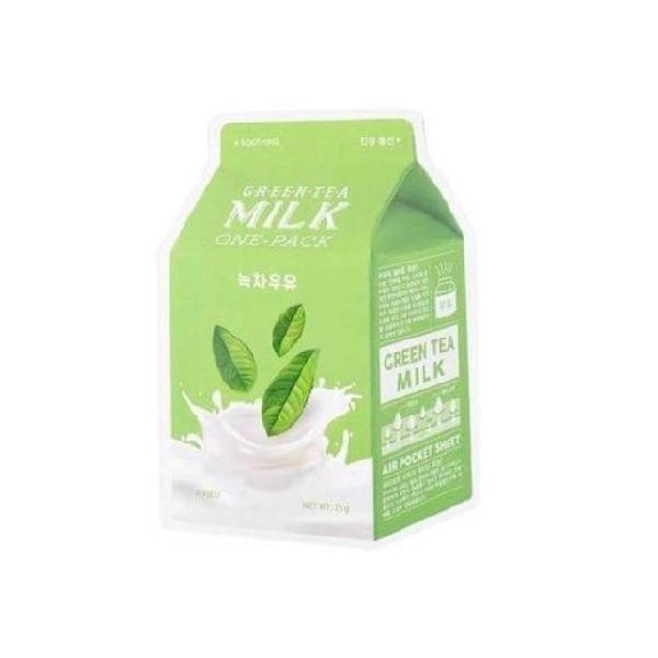 A'PIEU-Milk-One-Pack-maseczka-w-plachcie-banan-zielona-herbata